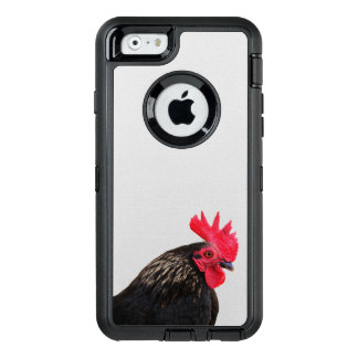 Funda OtterBox Defender Para iPhone 6 Retrato del gallo