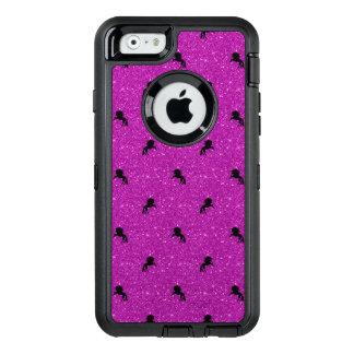 Funda OtterBox Defender Para iPhone 6 rosa del modelo del unicornio