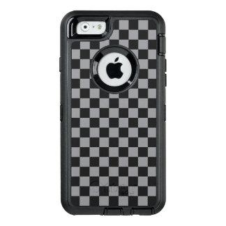 Funda OtterBox Defender Para iPhone 6 Tablero de damas gris