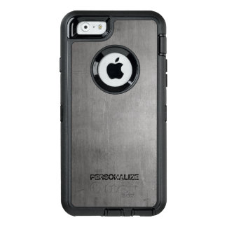 Funda OtterBox Defender Para iPhone 6 Textura cepillada del metal