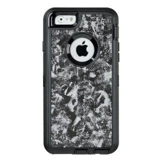 Funda OtterBox Defender Para iPhone 6 Tinta blanca en el fondo negro #1