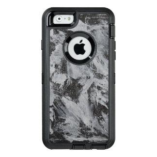 Funda OtterBox Defender Para iPhone 6 Tinta blanca en el fondo negro #5