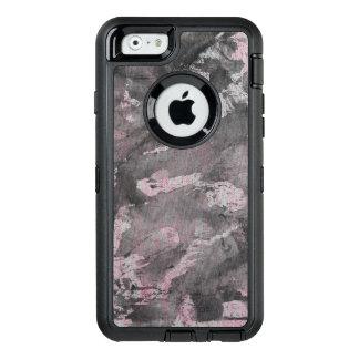 Funda OtterBox Defender Para iPhone 6 Tinta negra en el Highlighter rosado