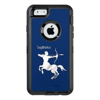 Funda OtterBox Defender Para iPhone 6 Zodiaco del sagitario de los azules marinos
