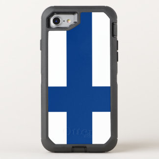 Funda OtterBox Defender Para iPhone 8/7 Bandera de Finlandia