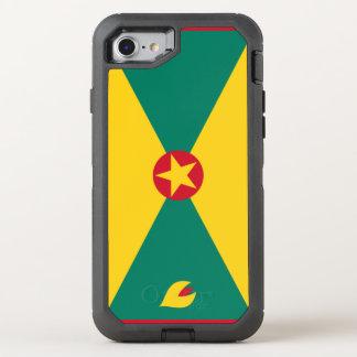 Funda OtterBox Defender Para iPhone 8/7 Bandera de Grenada