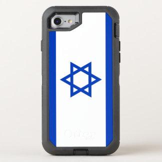 Funda OtterBox Defender Para iPhone 8/7 Bandera de Israel