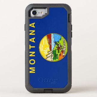 Funda OtterBox Defender Para iPhone 8/7 Bandera de Montana