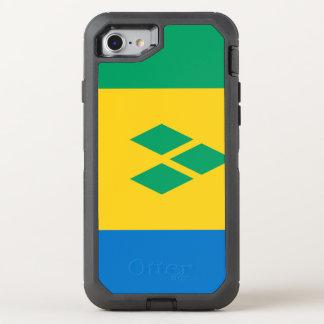Funda OtterBox Defender Para iPhone 8/7 Bandera de San Vicente y las Granadinas