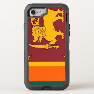 Funda OtterBox Defender Para iPhone 8/7 Bandera de Sri Lanka