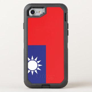 Funda OtterBox Defender Para iPhone 8/7 Bandera de Taiwán