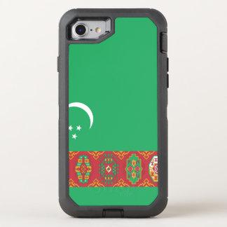 Funda OtterBox Defender Para iPhone 8/7 Bandera de Turkmenistán