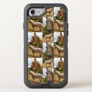 Funda OtterBox Defender Para iPhone 8/7 Caballo del Appaloosa, caso del iPhone 7 de