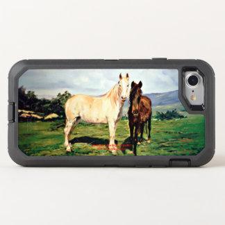 Funda OtterBox Defender Para iPhone 8/7 Caballos/Cabalos/Horses