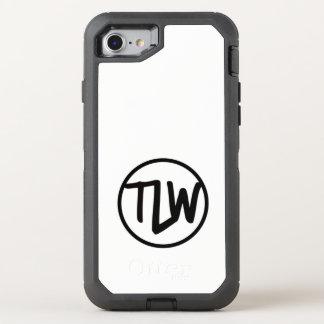 Funda OtterBox Defender Para iPhone 8/7 Caja de la caja de la nutria del logotipo de TLW