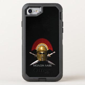 Funda OtterBox Defender Para iPhone 8/7 Caso del defensor de Molon Labe