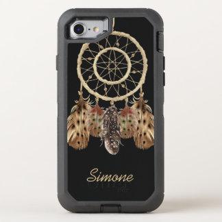 Funda OtterBox Defender Para iPhone 8/7 Colector del sueño del estilo de Boho con el