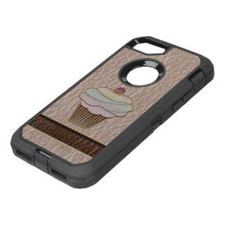 Funda OtterBox Defender Para iPhone 8/7 Cuero-Mirada que cuece suavemente