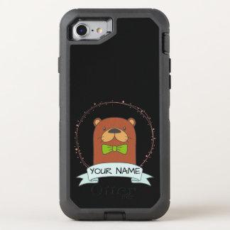 Funda OtterBox Defender Para iPhone 8/7 Dibujo animado lindo de la nutria