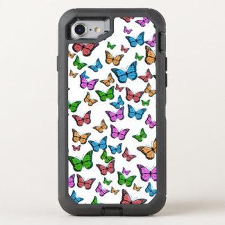 Funda OtterBox Defender Para iPhone 8/7 Diseño del modelo de mariposas