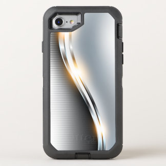 Funda OtterBox Defender Para iPhone 8/7 Diseño inoxidable de la onda