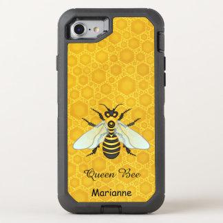 Funda OtterBox Defender Para iPhone 8/7 El bonito del panal de la abeja de la abeja reina