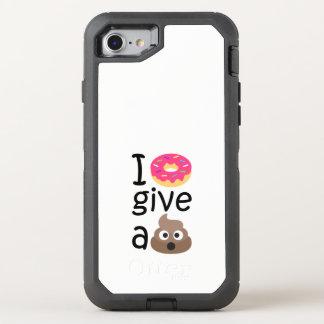 Funda OtterBox Defender Para iPhone 8/7 El buñuelo I da un emoji del impulso