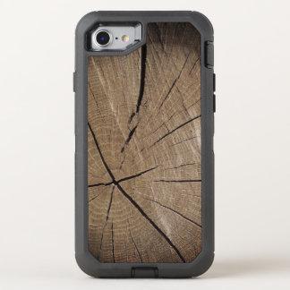 Funda OtterBox Defender Para iPhone 8/7 Estilo rústico de madera del tronco de árbol