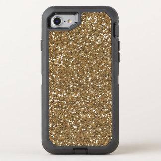 Funda OtterBox Defender Para iPhone 8/7 Falso brillo del oro bling el otterbox de 7