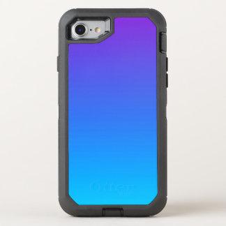 Funda OtterBox Defender Para iPhone 8/7 iPhone azul y púrpura de Ombre 8/7 caso de