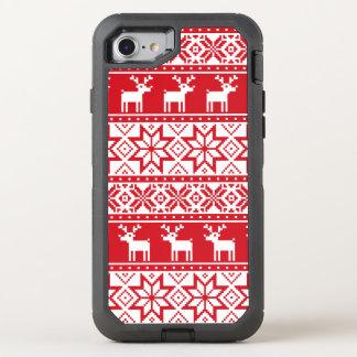 Funda OtterBox Defender Para iPhone 8/7 iPhone feo 7 del suéter del navidad