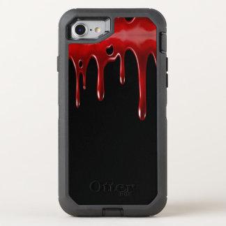 Funda OtterBox Defender Para iPhone 8/7 La sangre de Falln gotea negro