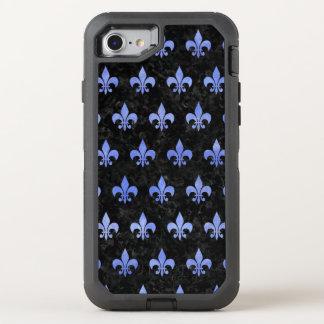 FUNDA OtterBox DEFENDER PARA iPhone 8/7 MÁRMOL NEGRO ROYAL1 Y ACUARELA AZUL (R)