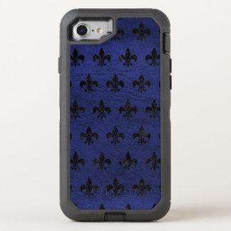 FUNDA OtterBox DEFENDER PARA iPhone 8/7 MÁRMOL NEGRO ROYAL1 Y CUERO AZUL