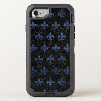 FUNDA OtterBox DEFENDER PARA iPhone 8/7 MÁRMOL NEGRO ROYAL1 Y PIEDRA AZUL (R)