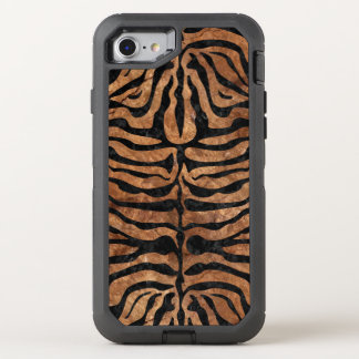 FUNDA OtterBox DEFENDER PARA iPhone 8/7 MÁRMOL SKIN2 Y BROWN NEGROS (R) DE PIEDRA