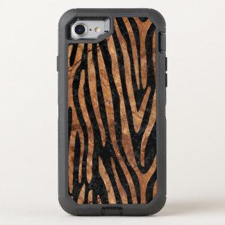 FUNDA OtterBox DEFENDER PARA iPhone 8/7 MÁRMOL SKIN4 Y BROWN NEGROS (R) DE PIEDRA