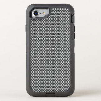 Funda OtterBox Defender Para iPhone 8/7 Modelo de la pantalla del metal plateado