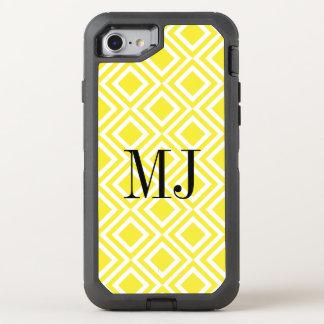 Funda OtterBox Defender Para iPhone 8/7 Modelo geométrico del diamante amarillo del