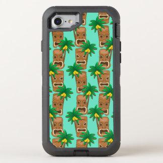 Funda OtterBox Defender Para iPhone 8/7 Modelo hawaiano de la repetición de Tiki