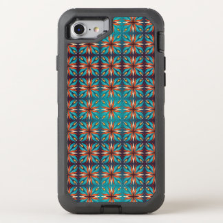 Funda OtterBox Defender Para iPhone 8/7 Modelo inconsútil retro geométrico abstracto