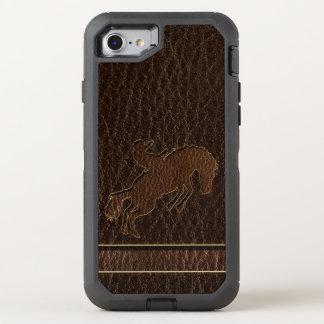 Funda OtterBox Defender Para iPhone 8/7 Oscuridad del rodeo de la Cuero-Mirada