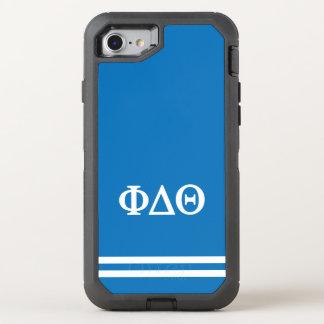 Funda OtterBox Defender Para iPhone 8/7 Raya del deporte de la theta el | del delta de la