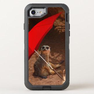 Funda OtterBox Defender Para iPhone 8/7 Sun divertido Meerkat elegante debajo del