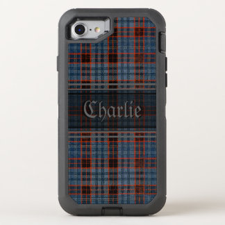 Funda OtterBox Defender Para iPhone 8/7 Tartán del Grunge