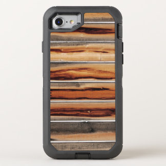 Funda OtterBox Defender Para iPhone 8/7 Único fresco de la textura de madera de la cerca