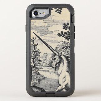 Funda OtterBox Defender Para iPhone 8/7 Unicornio en el bosque
