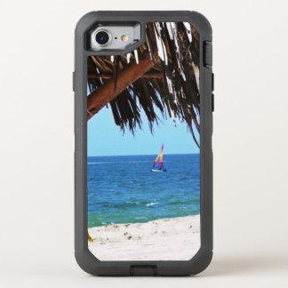 Funda OtterBox Defender Para iPhone 8/7 Velero colorido de la playa tropical