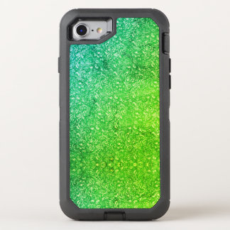 Funda OtterBox Defender Para iPhone 8/7 Vitalidad colorida brillante floral verde de neón
