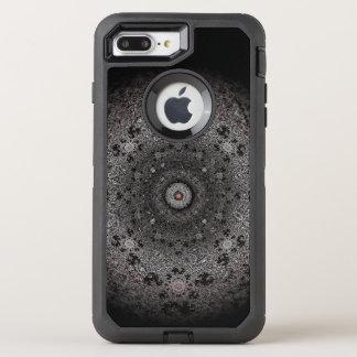 Funda OtterBox Defender Para iPhone 8 Plus/7 Plus Búsqueda del bosquejo oscuro del ojo-como forma
